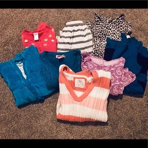 Girls Clothing Lot Size 10–12 8 Items